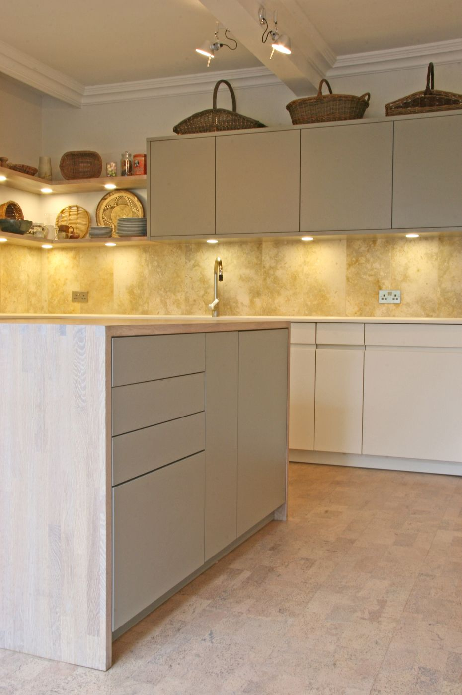 best options for kitchen flooring cork flooring kitchen Kitchen Cork flooring