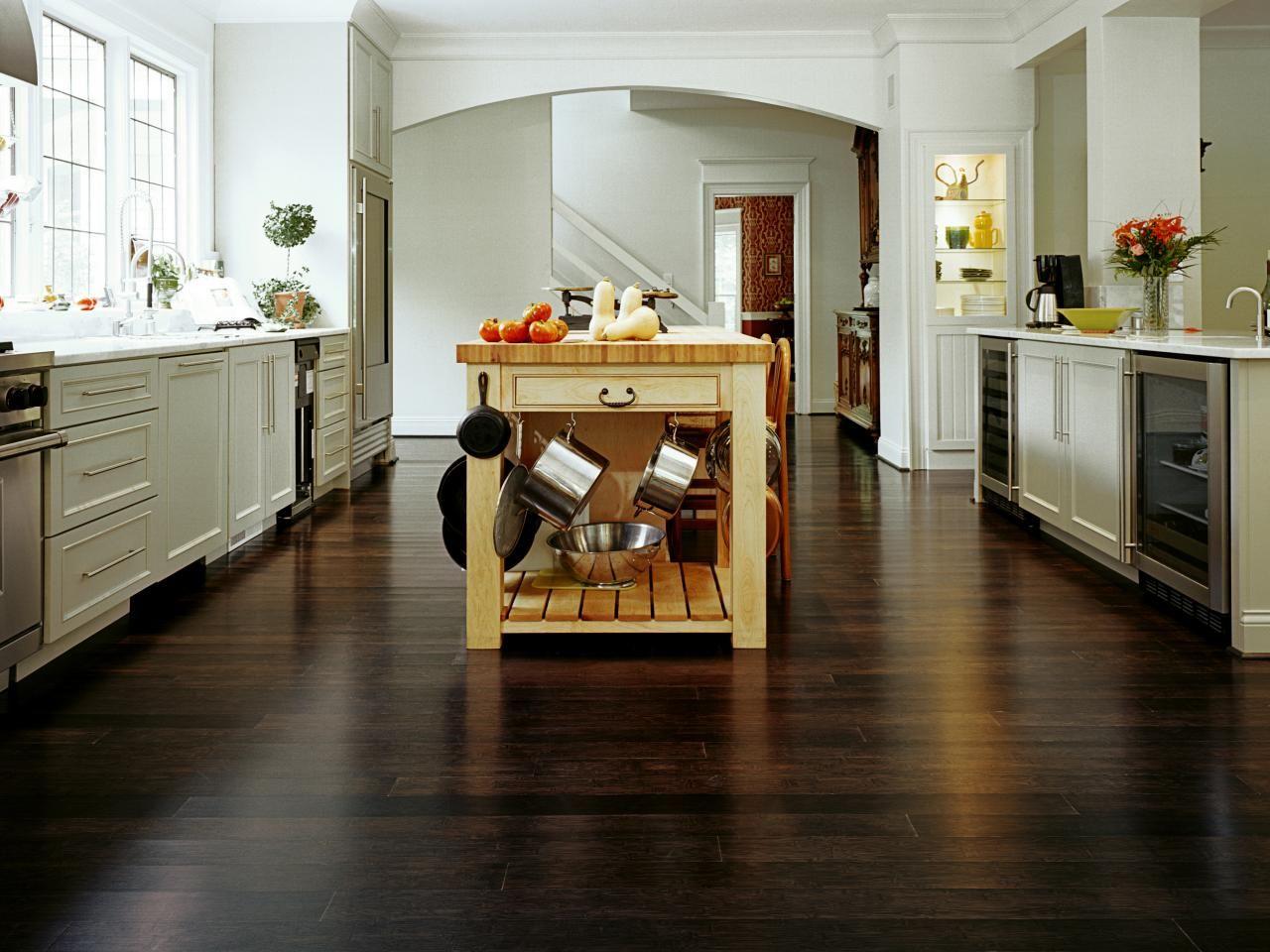 best options for kitchen flooring flooring for kitchen Kitchen bamboo flooring option