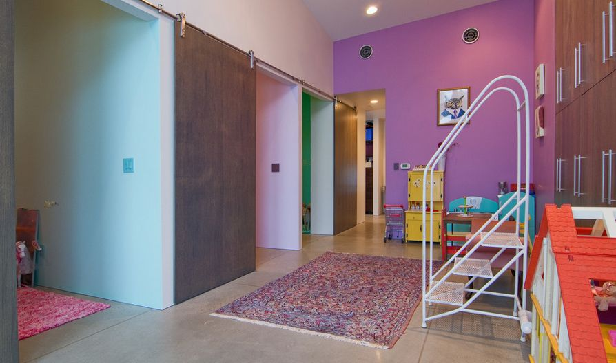 Cute Stylish Small Girl Wallpaper 50 Ways To Use Interior Sliding Barn Doors In Your Home