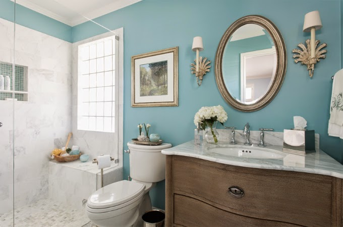 Using Bold Colors In The Bathroom – When And How To Do It