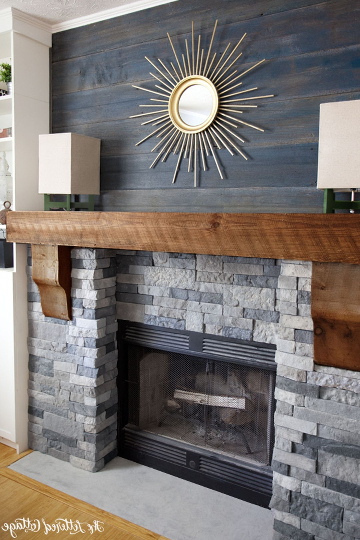 Brick Fireplace Wood Mantel 25 Stunning Fireplace Ideas To Steal
