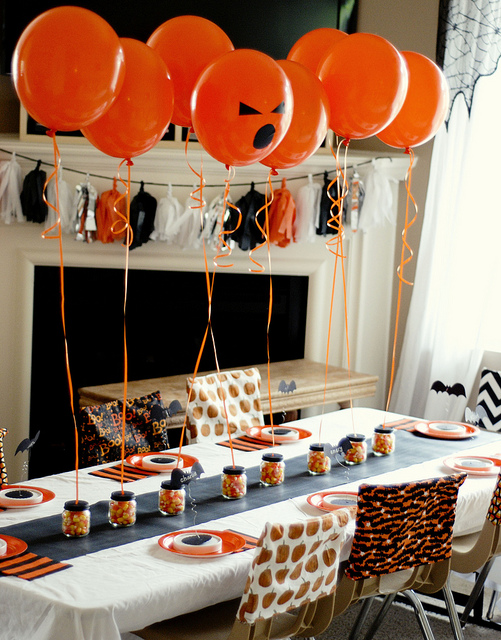 Ballon De Basket Exterieur 50 Spooky, Fun And Cute Diy Halloween Decorations