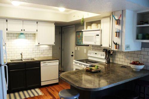 Medium Of Subway Tile Kitchen Backsplash