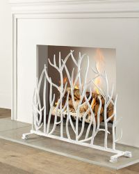 small decorative fireplace screens | Decoration For Home
