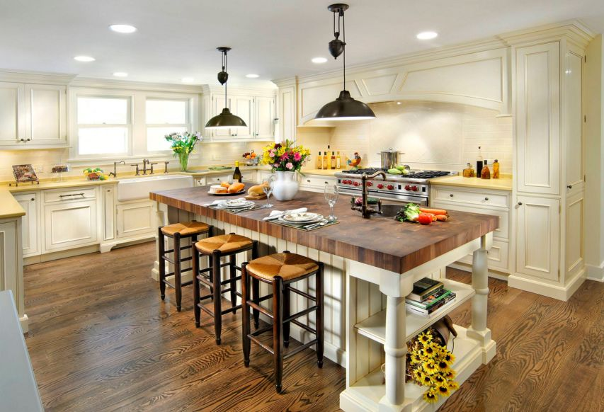 Kitchen Island Butchers Block 20 Examples Of Stylish Butcher Block Countertops