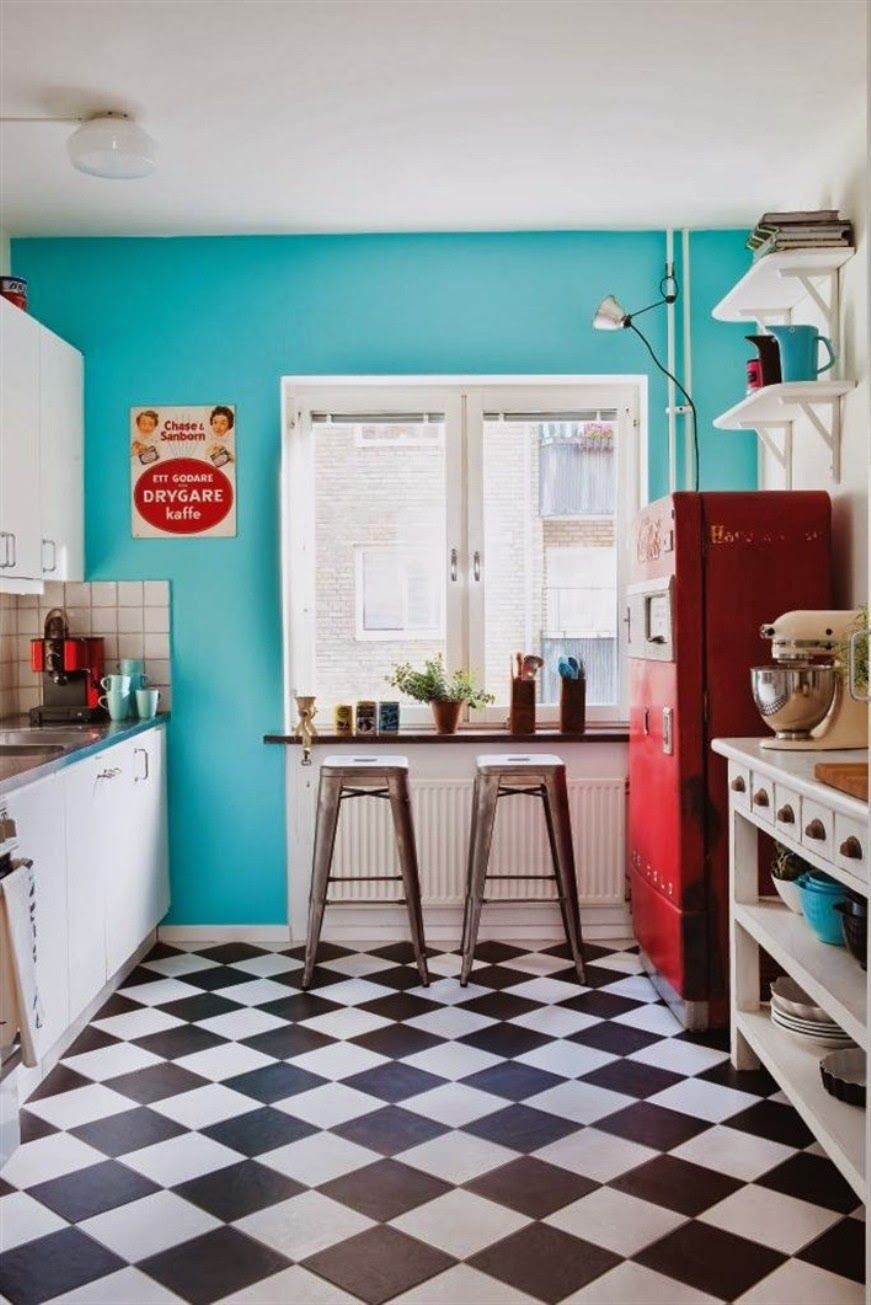 Cuisine Vintage 20 Elements To Use When Creating A Retro Kitchen