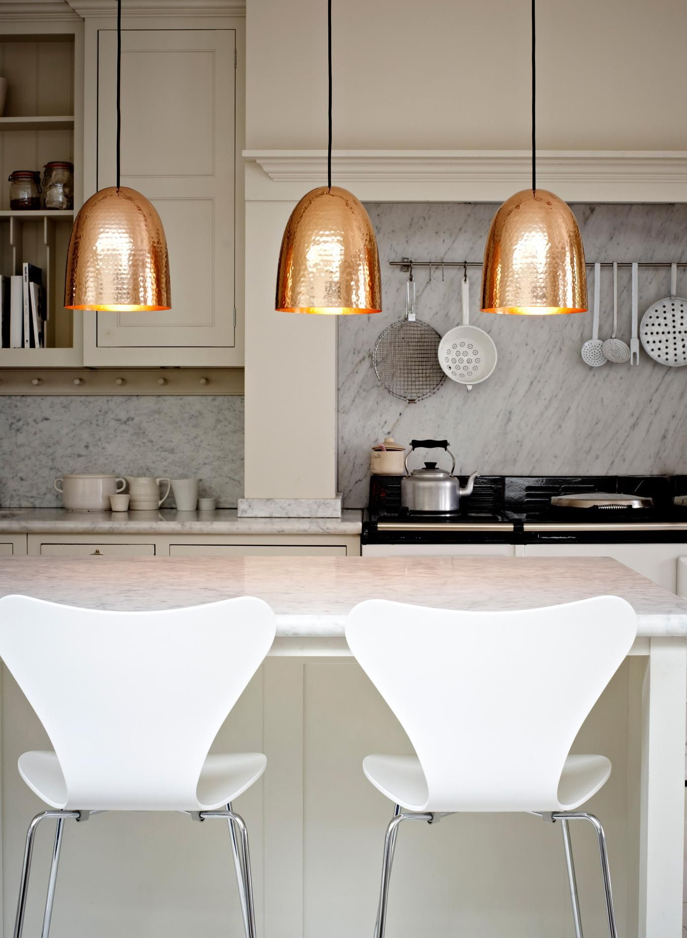 trendy copper pendant light kitchen pendant lighting