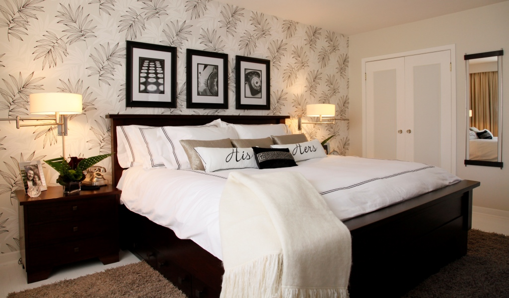 Pictures For Master Bedroom Wall 20 Ways Bedroom Wallpaper Can Transform The Space
