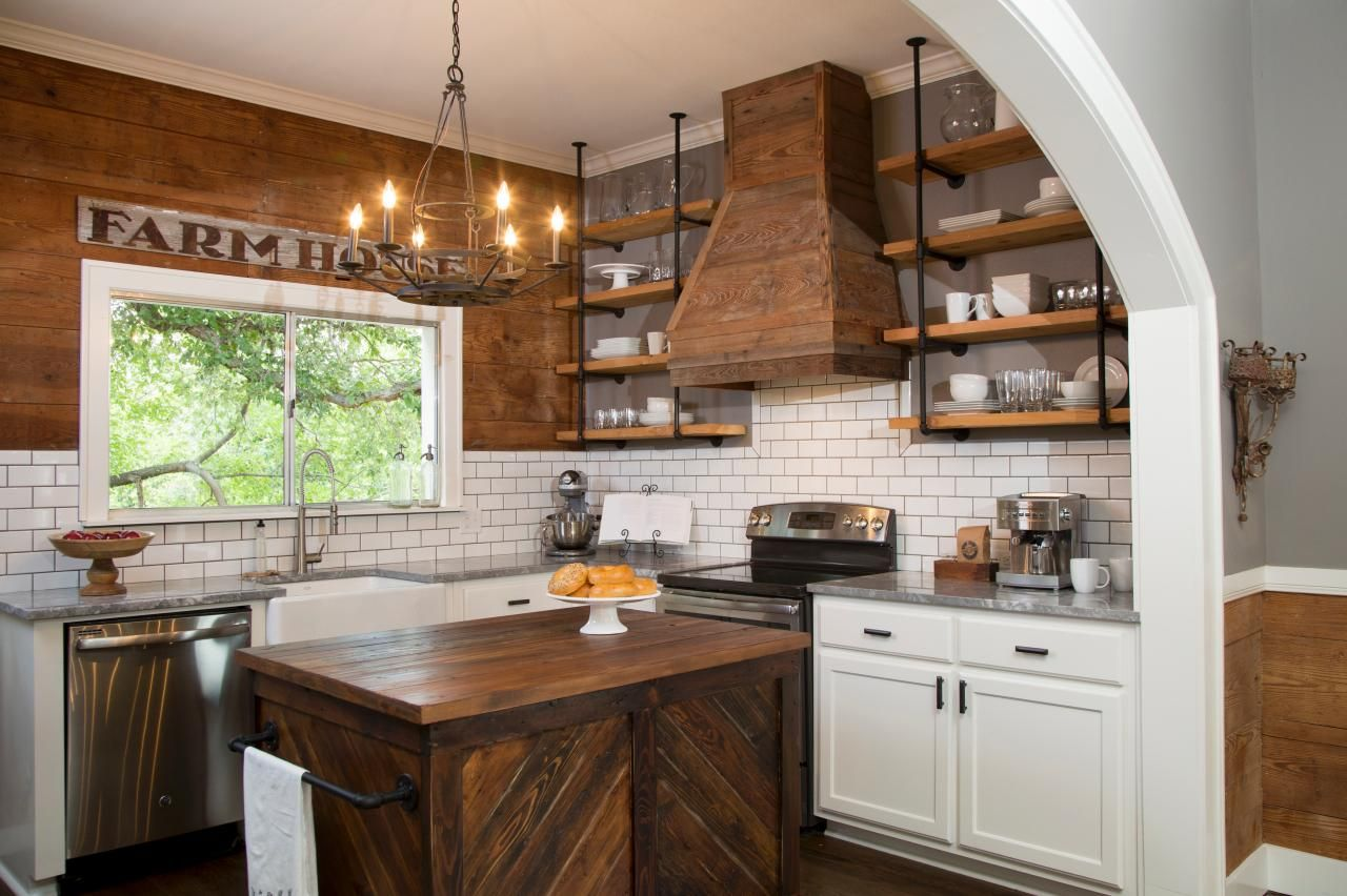 Large Kitchen Island Centerpieces 40 Elements To Utilize When Creating A Farmhouse Kitchen