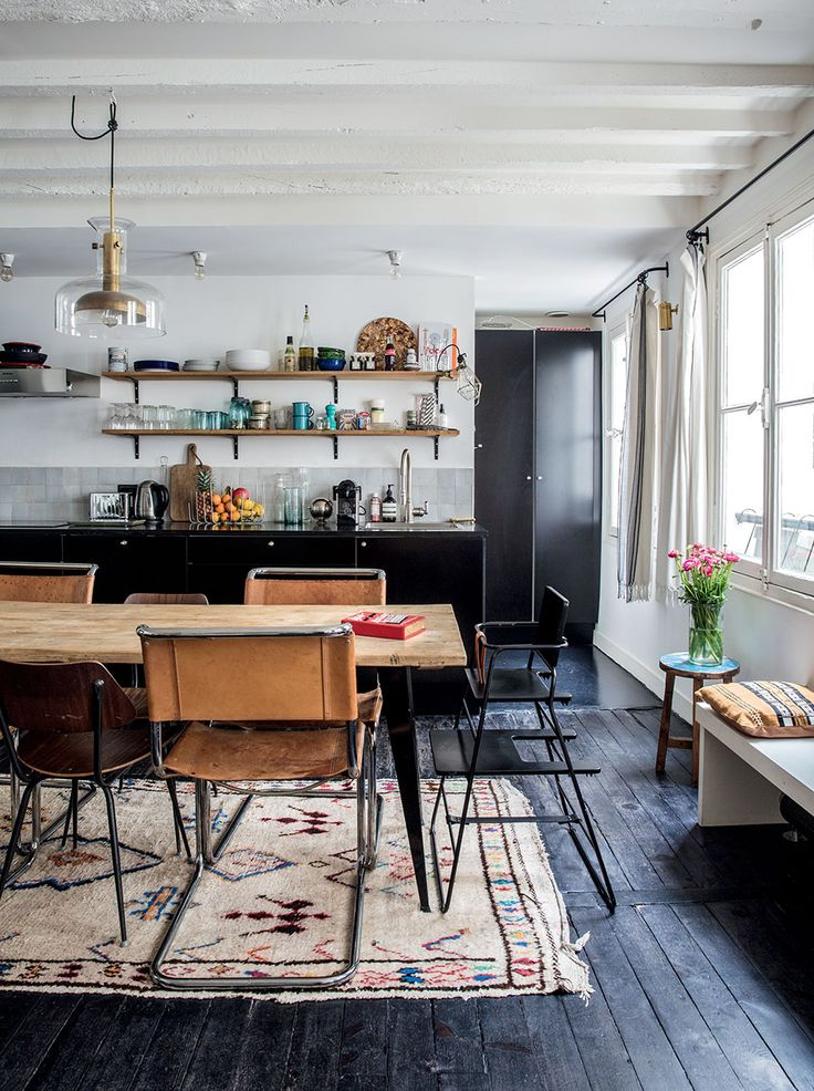 Vintage Industrial Style Küche 20 Black Kitchens That Will Change Your Mind About Using