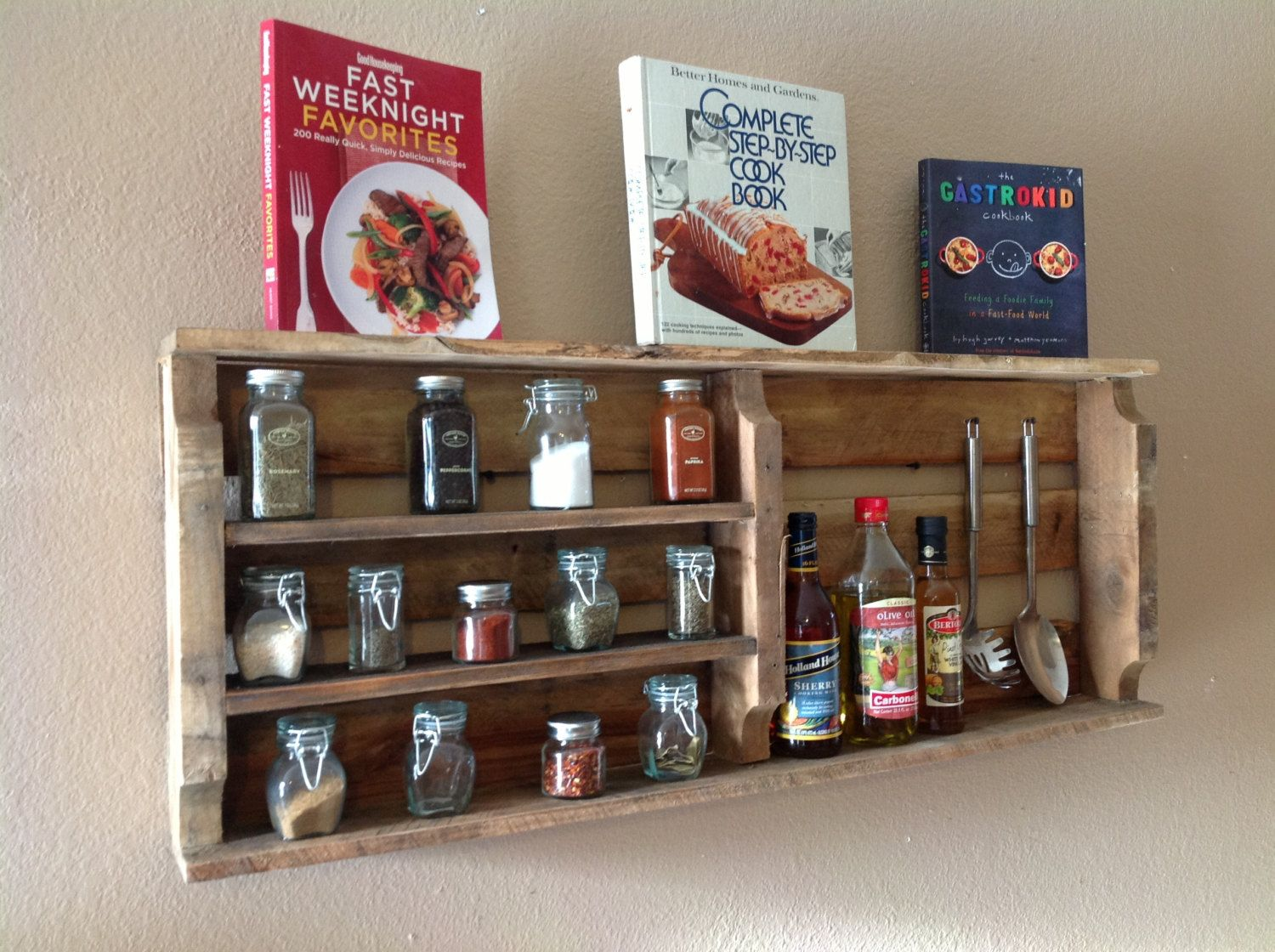 Creative Spice Storage 39 Wood Crate Storage Ideas That Will Have You Organized