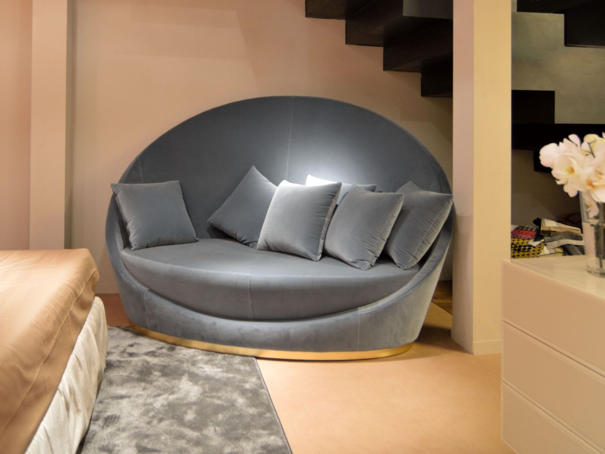 Runde Sofas Modern Style Roundup Decorating With Round Sofas And Couches