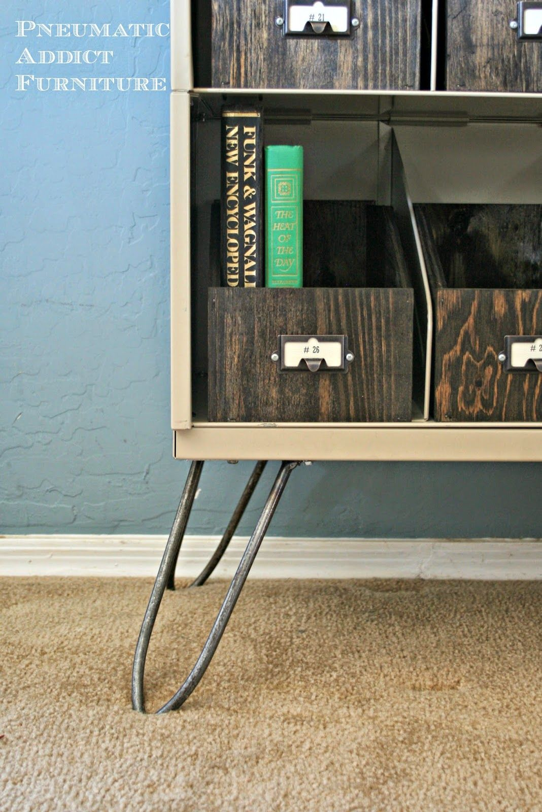 Vintage Sideboard Hairpin Legs The Key To Chic Diy Furniture Is A Set Of Hairpin Legs