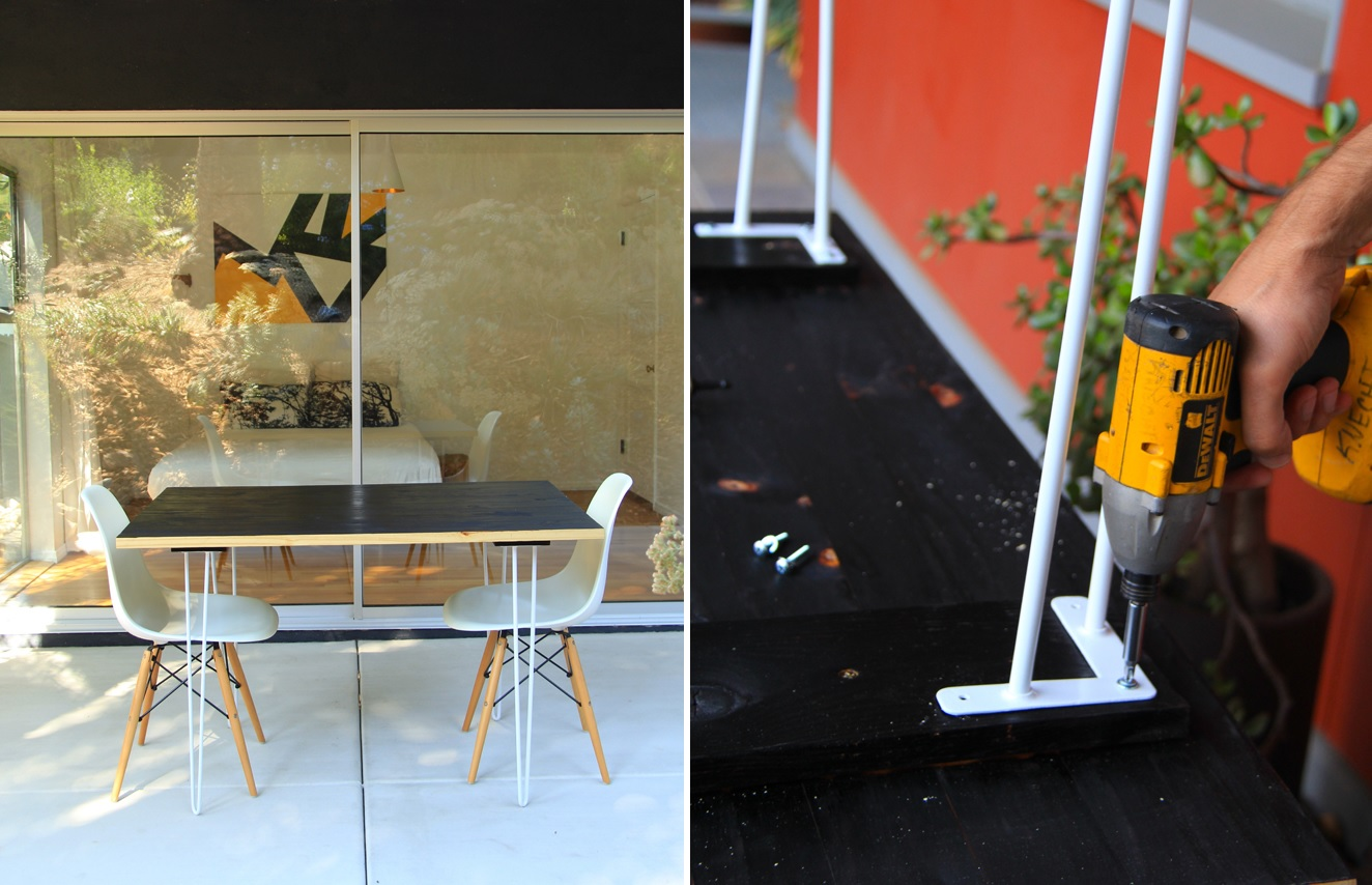 Hairpin Legs Ikea The Key To Chic Diy Furniture Is A Set Of Hairpin Legs