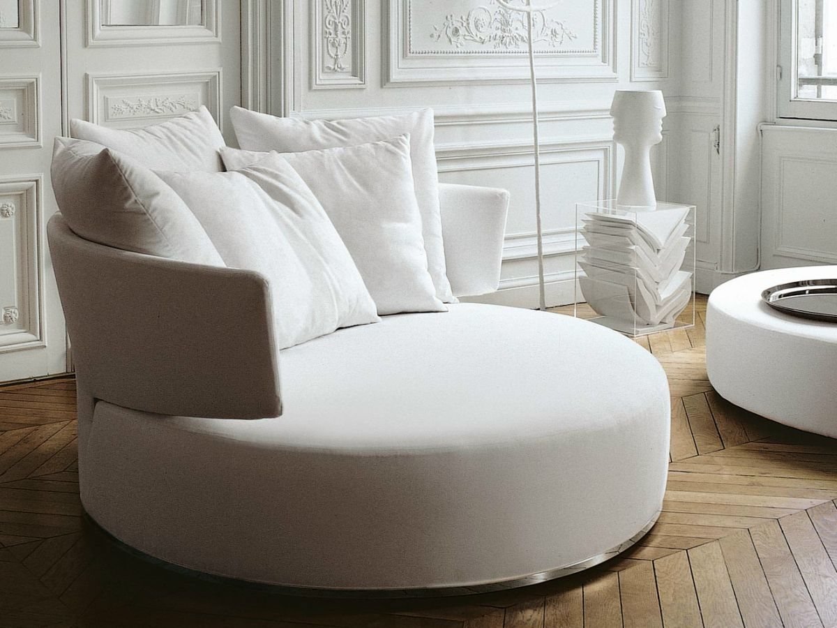 Mega Sofa Style Roundup – Decorating With Round Sofas And Couches