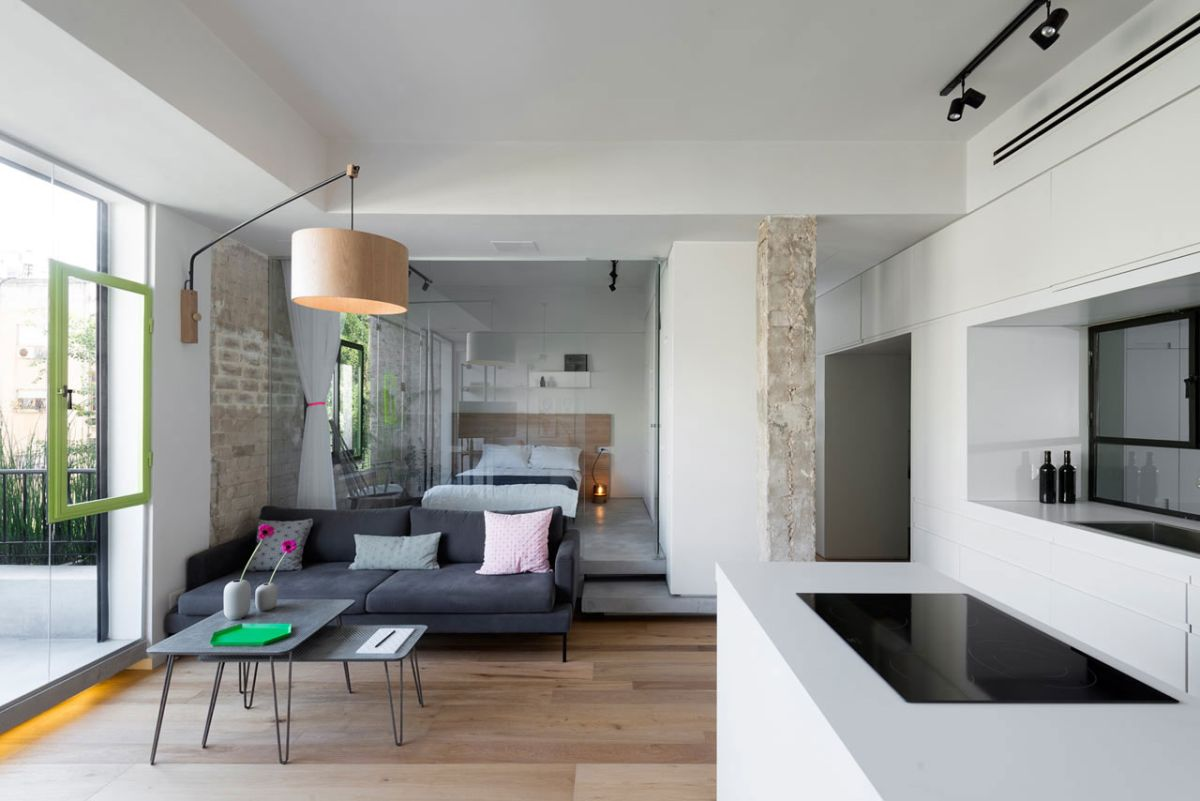 Japanese Sala Set Designs Modern Apartment Brings Japanese Beauty To Tel Aviv