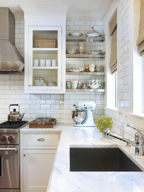 Dress Your Kitchen In Style With Some White Subway Tiles - Subway Tile