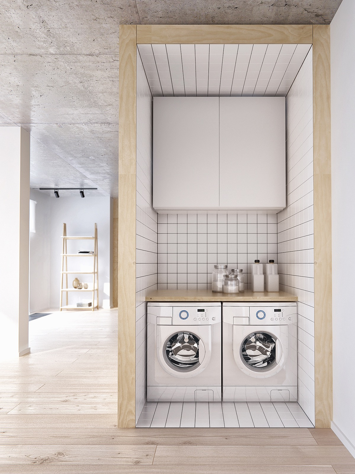 Carrelage Buanderie 20 Ultra Modern Laundry Rooms That Fit Into The Most