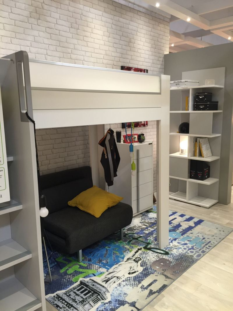 Loft Bed With Desk Fun And Playful Furniture Ideas For Kids' Bedrooms