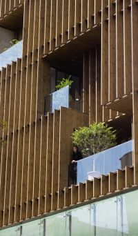 Stylish Balconies Become Integral Parts Of Their Building