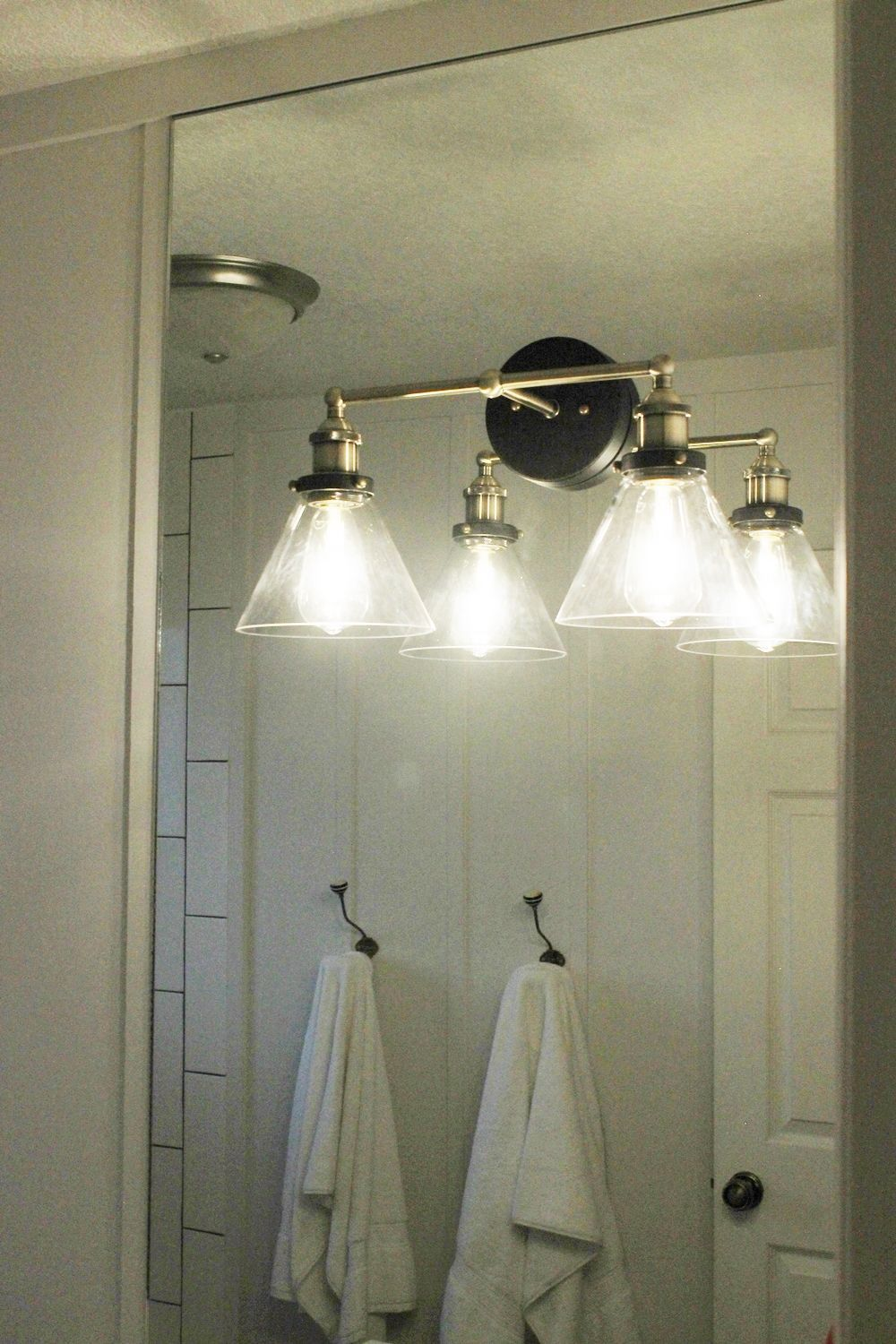 Light Bathroom Mirror Bathroom Vanity Lights Over Mirror House Architecture Design