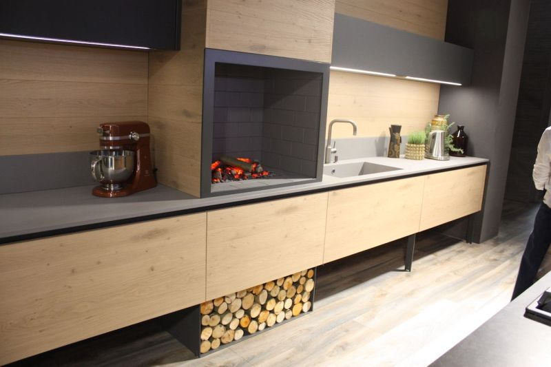 Wood Kitchen Cabinets Just One Way To Feature Natural Material
