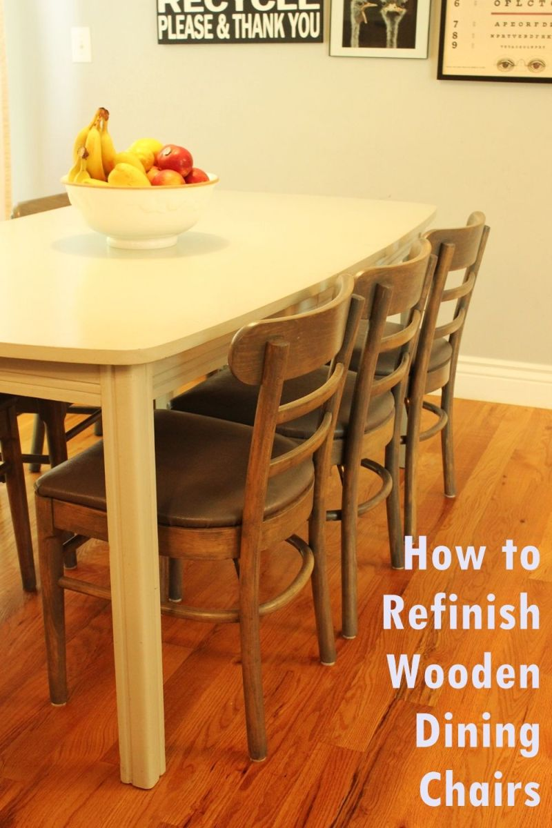 Timber Dining Tables And Chairs How To Refinish Wooden Dining Chairs A Step By Step Guide From