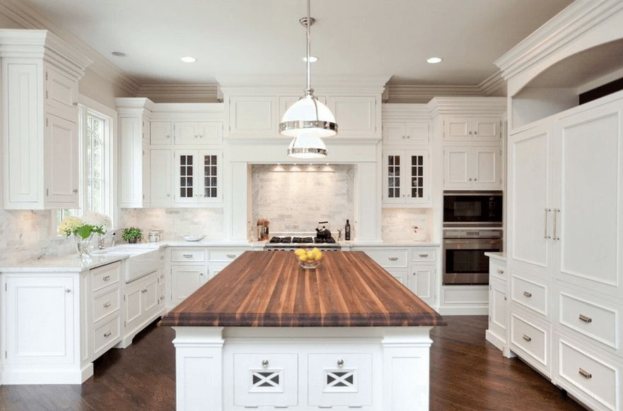Wood Island Tops Kitchens 20 Gorgeous Examples Of Wood Laminate Flooring For Your