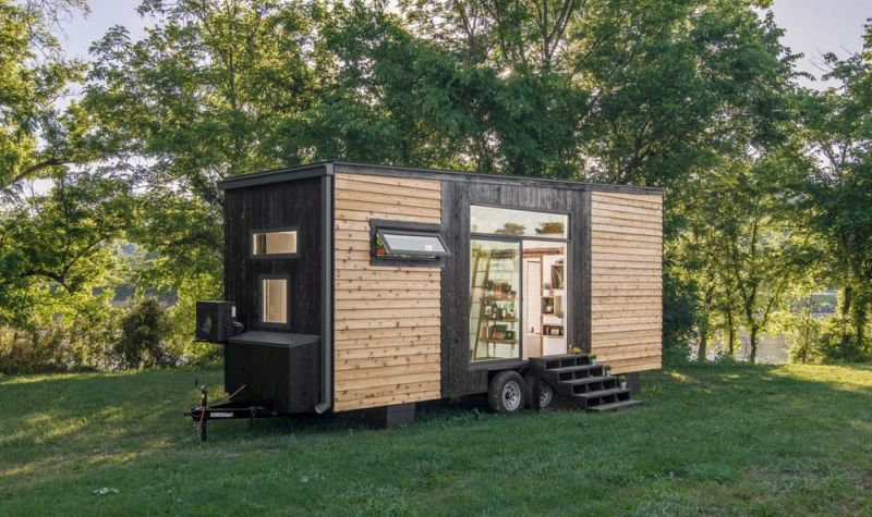 Holzhaus Selber Bauen Kosten Comfort And Luxury In A Tiny House Format