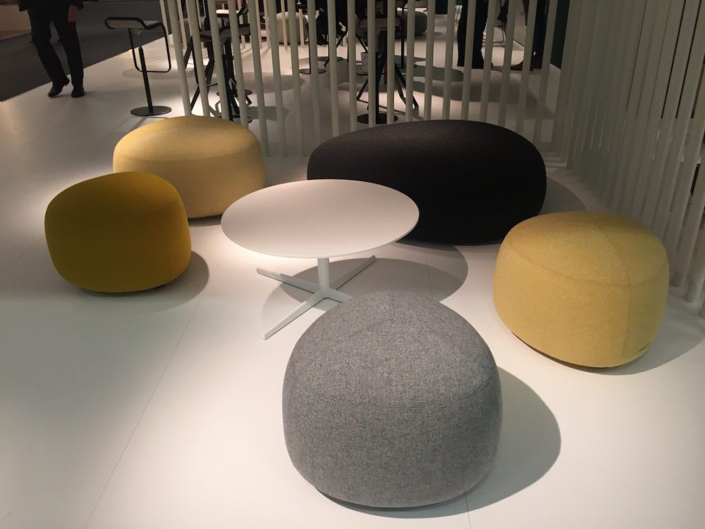Softline Sofa Call It A Pouf Or Ottoman -- It's A Versatile Piece Of