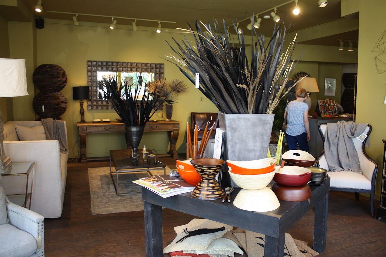 The entire store is a well-appointed mix of pieces that catch your eye. We couldn't leave without snagging a few home decor items for ourselves!
