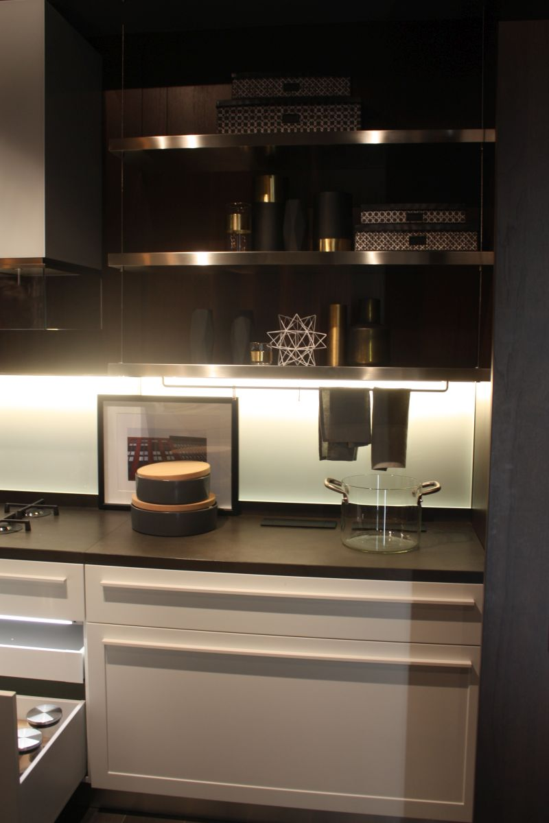 What Goes With Black Kitchen Cabinets Under-cabinet Led Lighting Puts The Spotlight On The