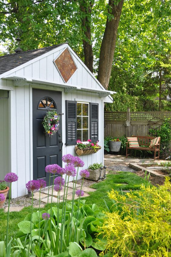 Store Exterieur Nice 10 Ideas To Style Your Garden Shed