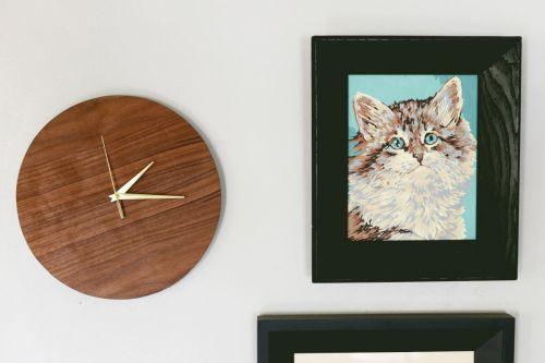 Medium Of Unique Wooden Clocks