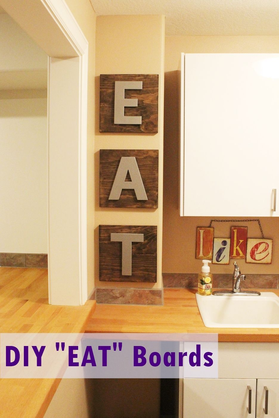 Kitchen Decor Diy Kitchen Décor Eat Boards