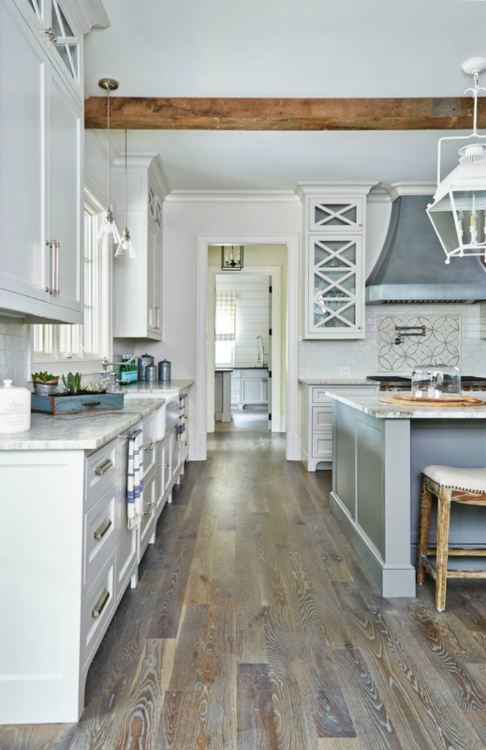 Kitchen Floor Ideas With Gray Cabinets 10 Best Floorings For Your Rustic Kitchen
