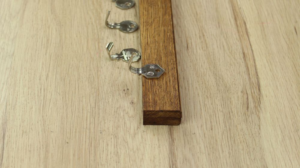 Transform Old Keys Into A Key Holder For Wall