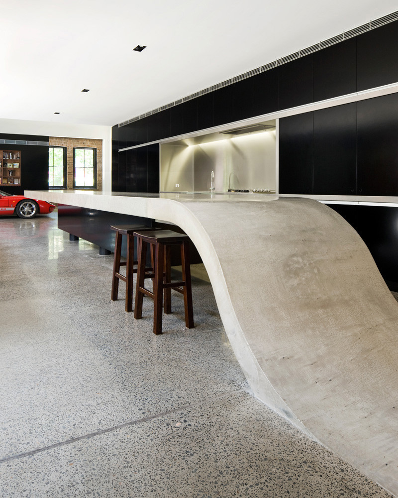 concrete countertops concrete kitchen countertops The Nitty Gritty of Concrete