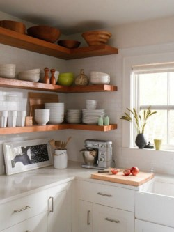 Small Of Rustic Floating Corner Shelves