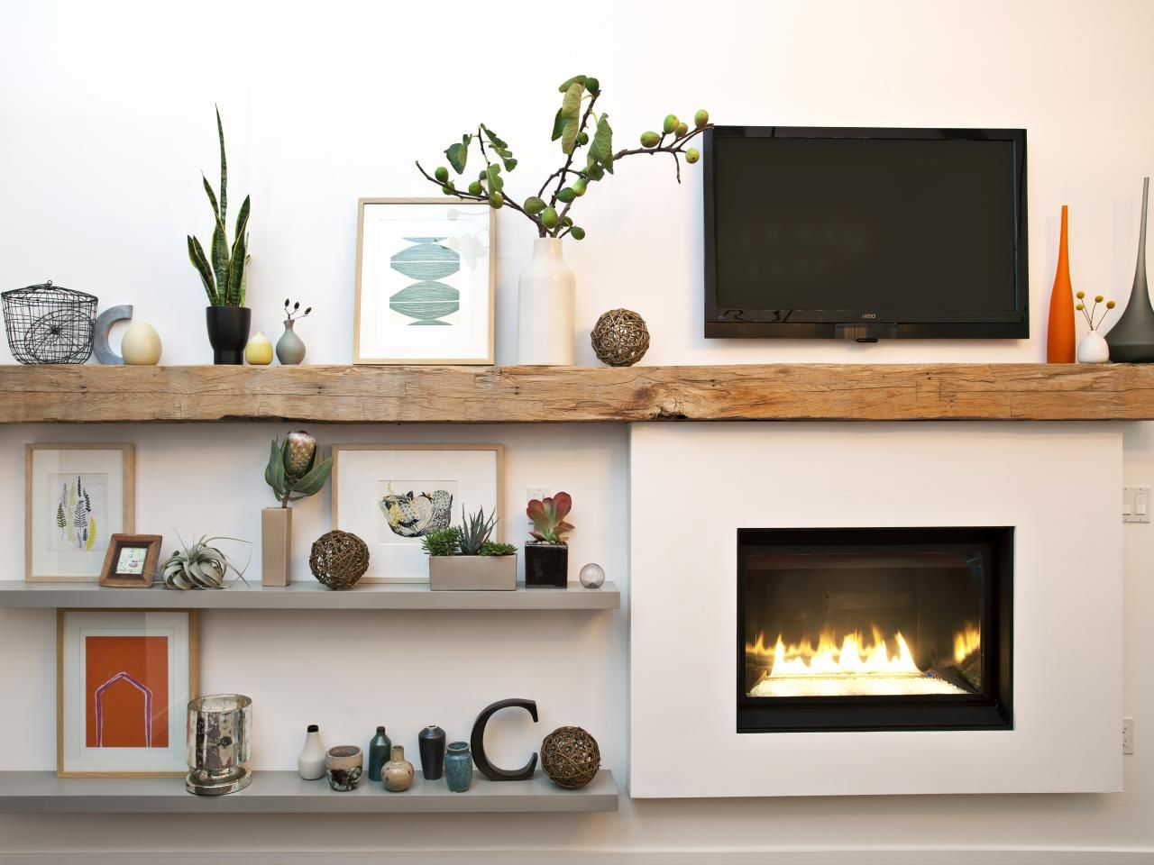 How To Decorate Fireplace 21 Tips To Diy And Decorate Your Fireplace Mantel Shelf