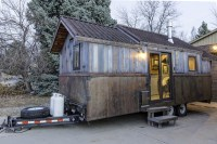 Tiny Mobile Home With Unusual Decor Features