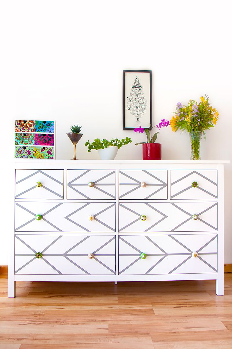 Contact Paper For Furniture Diy Ikea Dresser Hack With Contact Paper