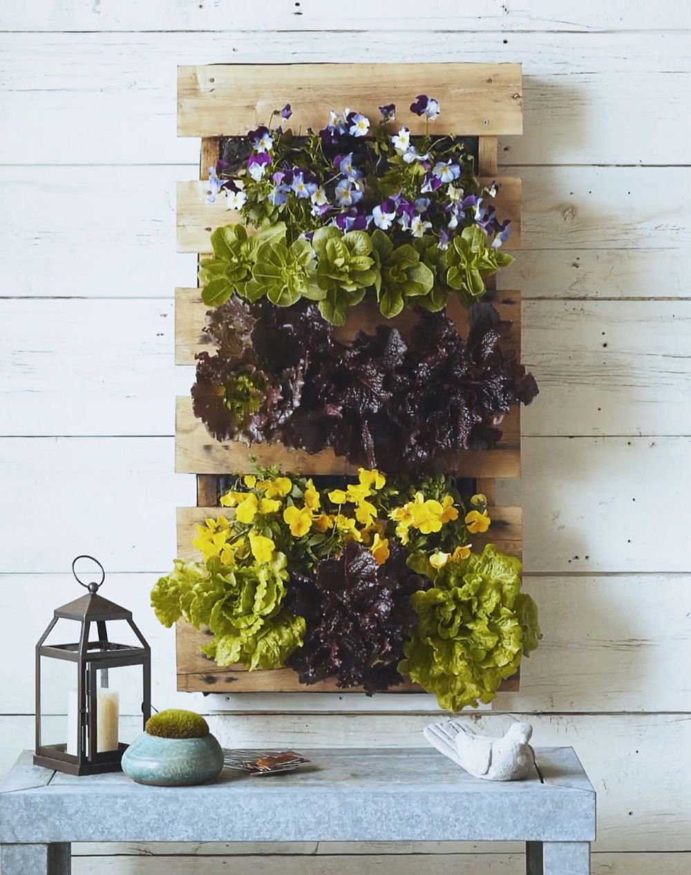 Simple Planters 15 Simple Ways To Build A Pallet Planter