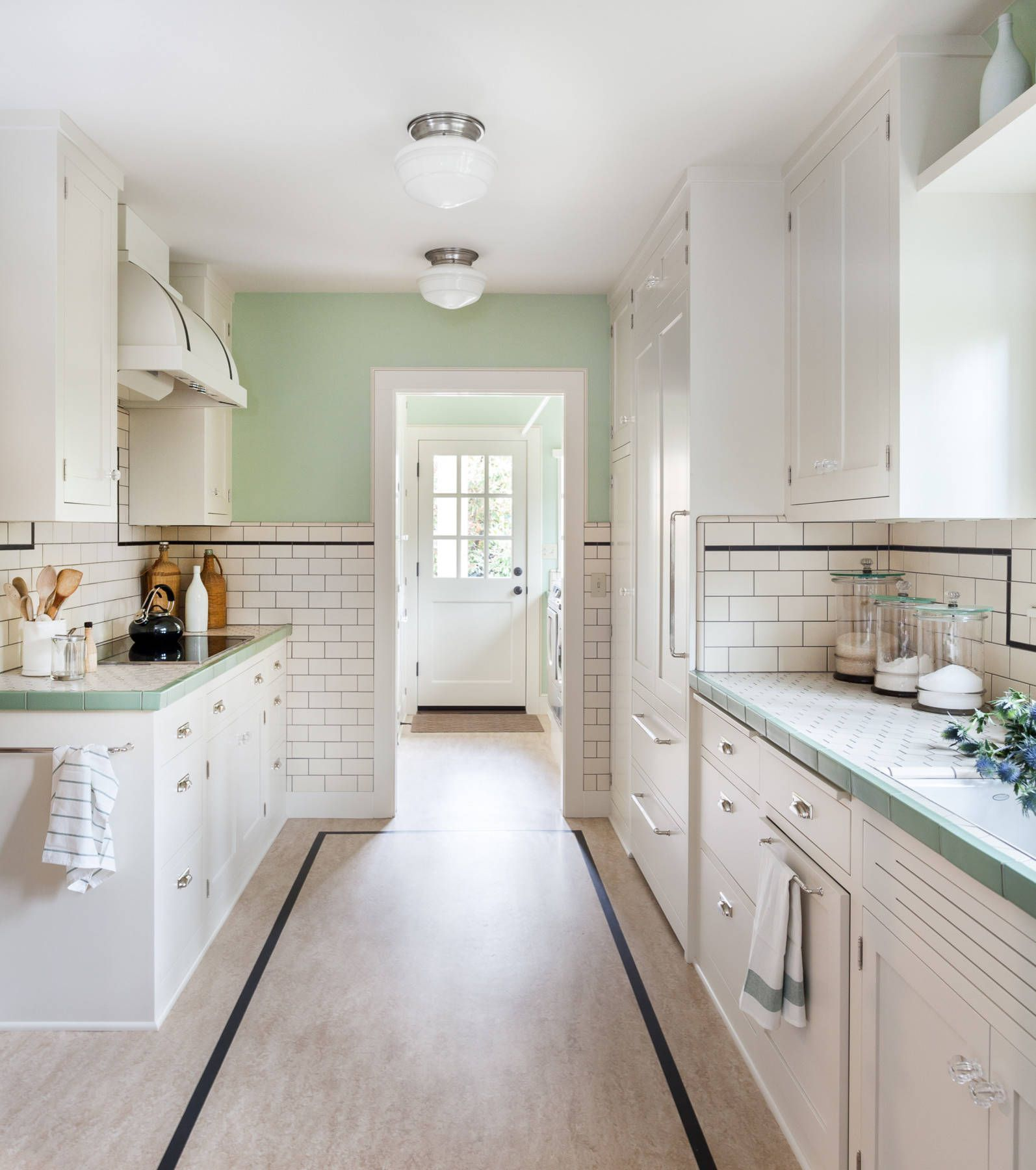 Mint Green Kitchen: Mint Green Kitchen Cabinets