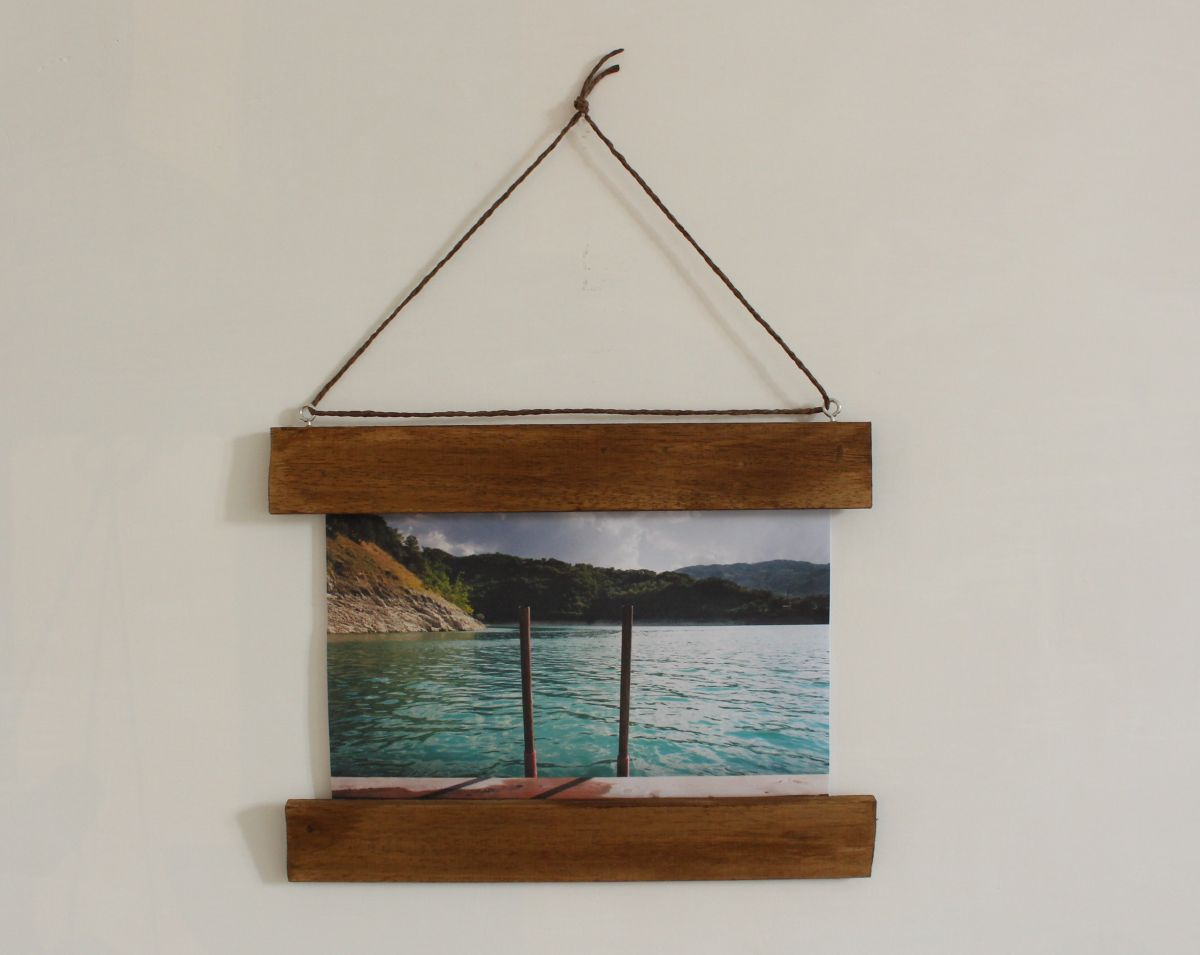Diy Picture Frame Glass Make A Diy Photo Frame With No Glass