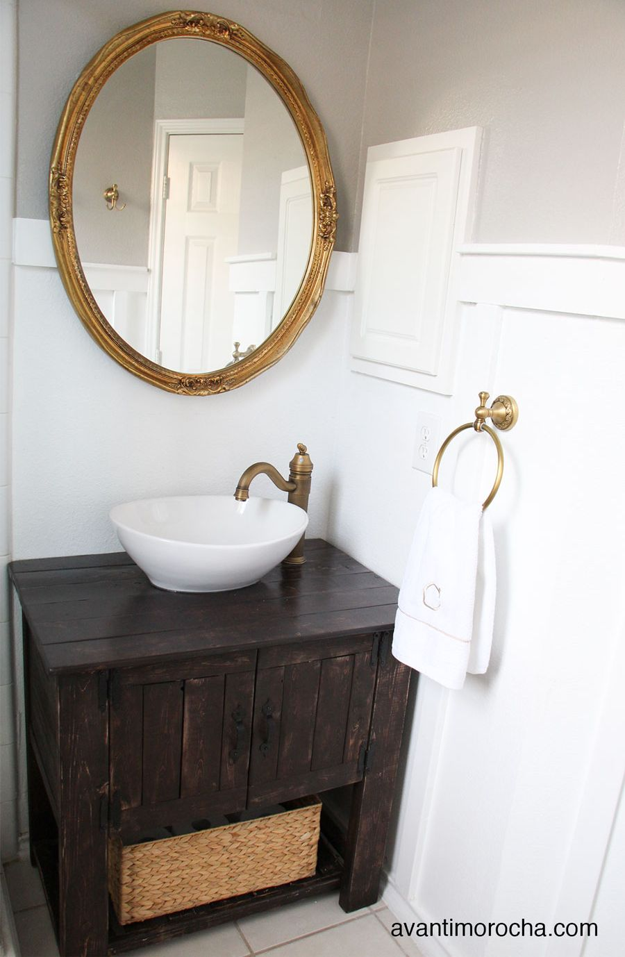 How To Make A Bathroom Vanity Cabinet Diy Bathroom Vanity Ideas Perfect For Repurposers
