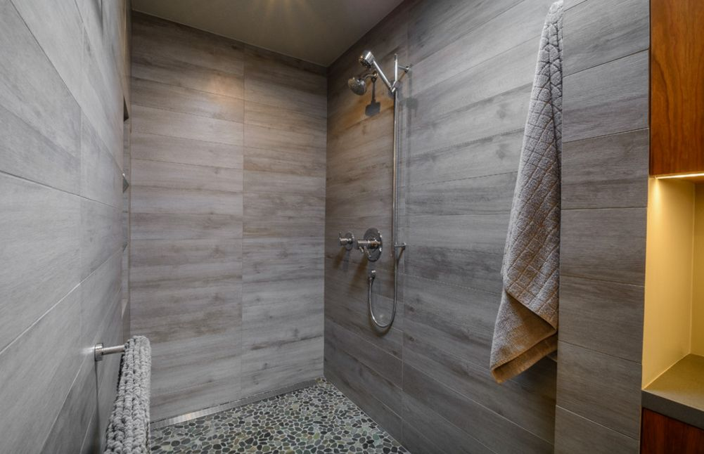 Wood Floor In Bathroom Pros And Cons Shower Floor Ideas That Reveal The Best Materials For The Job