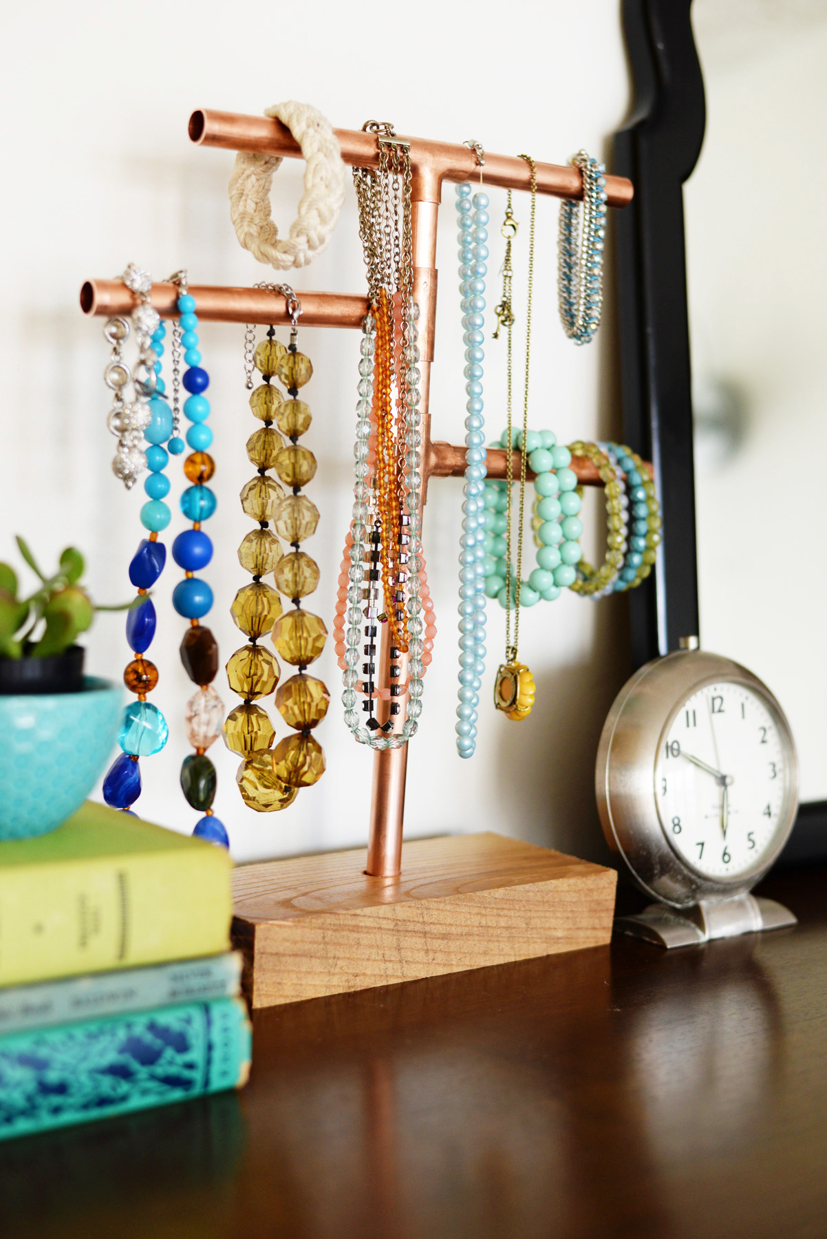 Diy Jewelry Organization Ideas 12 Diy Necklace Holder Ideas To Spark Your Imagination