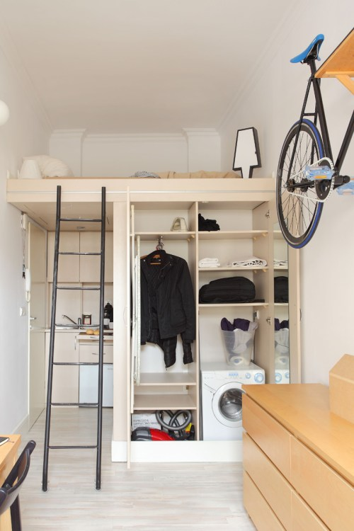 Medium Of Tiny Loft Apartment
