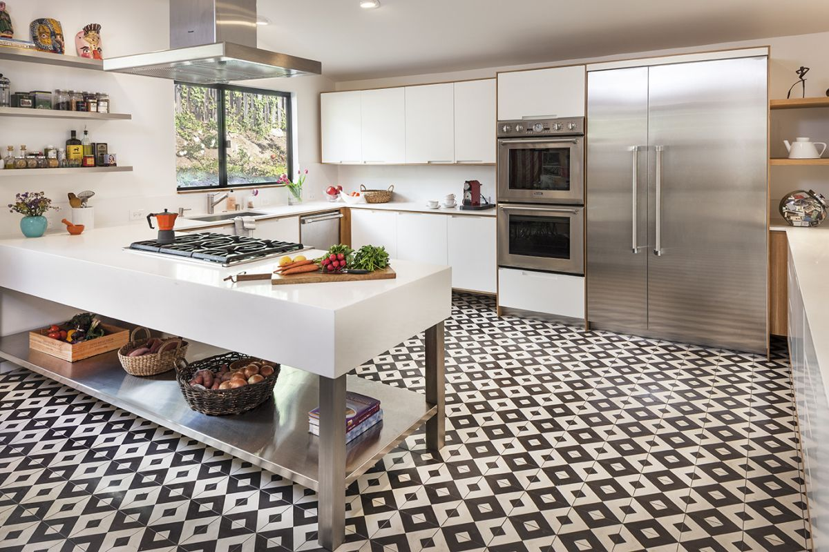 Kitchen Floor Tiles Pictures 18 Beautiful Examples Of Kitchen Floor Tile